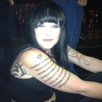 Amante de la cerveza y los tattoos